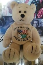 Pebble Beach Golf Course 100th US Open USGA 2000 Beanie Bear