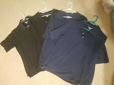 lot of 4 men's polo t-shirts size large