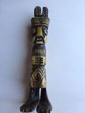 Peruvian  Inca Medicine Idol  Carved in Llama Bone.
