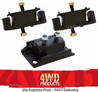 Engine & Gearbox Mount SET - Ford Courier Mazda Bravo B2600 2.6P G6 (96-06)