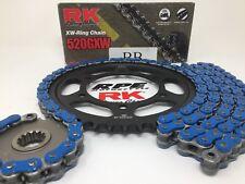 Blue 2006-18 Yamaha R6 RK GXW 520 16/45 OEM Ratio Chain and Sprocket Kit