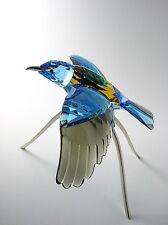SWAROVSKI ROLLER BLUE TURQUOISE #957568 BRAND NEW IN BOX CRYSTAL BIRD RETIRED FS