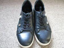 VERSACE MENS shoe SIZE10, BLACK. Used