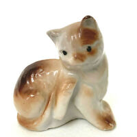 Vintage Cat Ceramic Tiny Japan