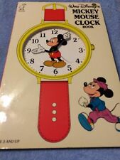 Walt Disney's Mickey Mouse Clock Book by Outlet Book Company Staff