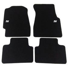 For 1992-1995 Honda Civic Floor Mats Non-Slip 4PC Black Front Rear Nylon Carpets