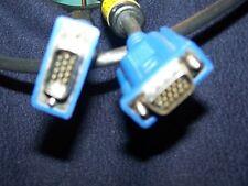 Premium SVGA laptop  Monitor Cable 15 pin M/M, 6 FT
