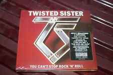 Twisted Sister – You Can't Stop Rock 'N' Roll  2CD / SEALED / FREE SHIPPING /