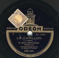 Micha Spoliansky Celesta solo: Le carillon / Petite Grand'mère    Odeon 10''