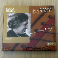 Great Pianists of the 20th Century #43 Clara Haskil 1 (2 x CD 1998) NEW/SEALED