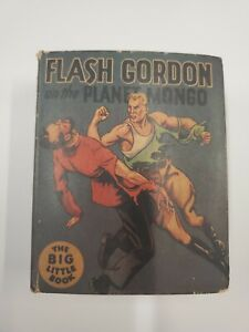 The Big Little Book - Flash Gordon on the Planet Mongo - Whitman - SAFN04