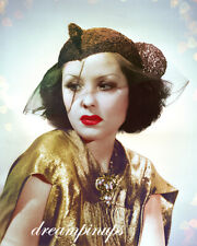 RAQUEL TORRES 1932 Hollywood Color Portrait by RUSSELL BALL