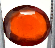 AGSL Certified 3.50 Ct Natural Orange Ceylon Hessonite Garnet Untreated GemStone