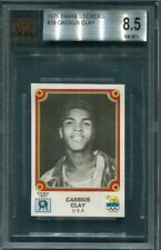 1976 OLYMPIC PANINI CASSIUS CLAY *HOF* BVG 8.5 **RARE** BGS PSA (HIGH GRADE)