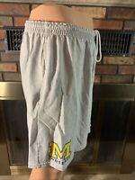 Vintage 90s Nike Team Michigan Wolverines NCAA Football Shorts Mens XXL Fab 5