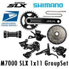 Shimano SLX M7000 1x11 Speed Groupset 32/34 Cassette 40T/42T/46T With Brake Set