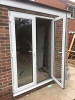 White uPVC French Doors - IN STOCK / Made to Measure / Nationwide Delivery