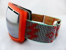 Electric EG2.5 Snow Goggles Green Weave - Brose/Silver Chrome + Light Green Lens