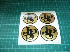 JPS Wheel Centre Stickers x 4 (50mm)