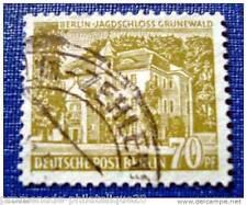 ALLEMAGNE BERLIN timbre - stamp yt n°102 o (Bâtiment)