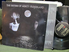 THE SISTERS OF MERCY FLOODLAND WEA 1987 VINYL LP w/lyric oop goth orig rare WOW!