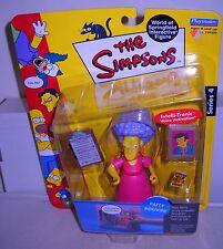#4851 NRFC Playmates Toys the Simpsons Patty Bouvier Figure Series 4