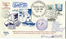 URSS CCCP Ice Inform QUARK Ship Polar Antarctic Cover Geographic Soyuz SIGNED