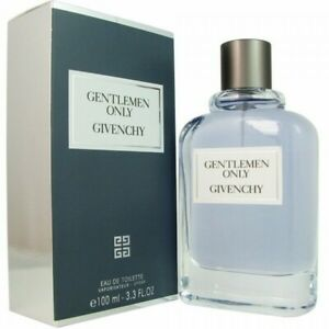 GIVENCHY GENTLEMEN ONLY 100ML EDT MEN NEW SEALED BOX.