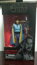 "Star Wars Black Series Lando Calrissian 6"" inch Action Figure #39 Episode V New"