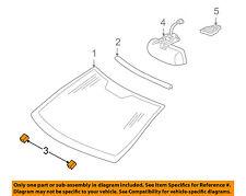 MERCEDES OEM 01-05 C320 Windshield-Pad 2096710097