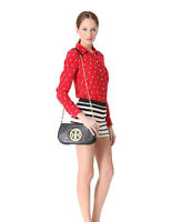 Tory Burch T-LOGO chain clutch crossbody bag 85% ALMOST PERFECT CONDITION