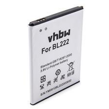 Batterie 3000mAh pour Lenovo S660, S668, S668T, BL222