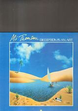 ALI THOMSON - deception is an art LP