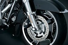Kuryakyn Chrome Lower Fork Leg Covers Deflectors Harley Touring Bagger 2000-2013