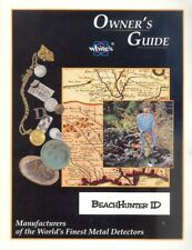 Instruction Owner's Manual For Whites Beachhunter Id Metal Detector