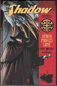 SHADOW THE DEATH OF MARGO LANE HC Hardcover $24.99srp Matt Wagner 2016 NEW