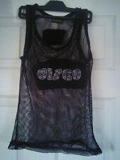 ''Disco'' string vest top
