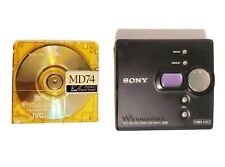 Sony Mz-Ne410 High Speed Net Md MiniDisc Mini Disc Walkman Recorder Tested Works