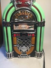 Nostalgia Classics 1940's style jukebox Cd Am/Fm radio Cd Crosley model Wcd 4090