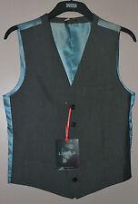 Para Hombre M&S Slimfit Chaleco Limited Collection-Talla M/Medium-Indigo-Bnwt