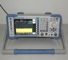 Rohde Amp Schwarz Fsl3 13002502k13 Spectrum Analyser 9khz 3ghz