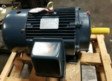 New Leeson 20 Hp Electric Ac Motor 230460 Vac 256t Frame 1768 Rpm 3 Phase