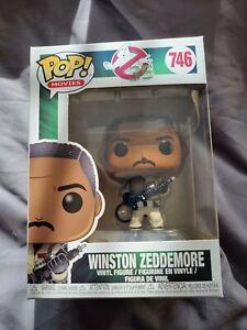Funko Pop Ghostbusters 35th Winston Zeddemore #746