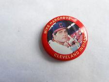 Vintage 1984 Mike Hargrove Cleveland Indians Fun Foods #101 MLB Baseball Pinback