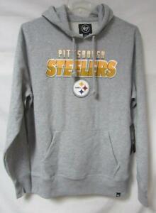 Pittsburgh Steelers Mens Size Large Pullover Hoodie Sweatshirt A1 2532