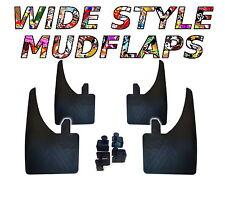 4 x NEU hochwertige breite Schmutzfänger passend für Opel Corsa