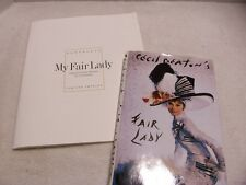Cecil Beaton's Book Audrey Hepburn Fair Lady and My Fair Lady Portfolio Rare