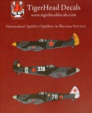Tigerhead Decals 1/48 Supermarine Spitfires in Soviet Service # 48019