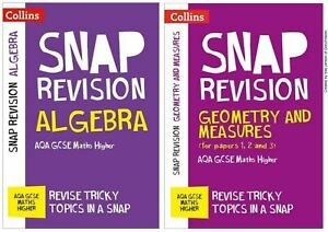 GCSE AQA MATHS 9-1 HIGHER REVISION NOTES GEOMETRY ALGEBRA TARGETED LEARNING
