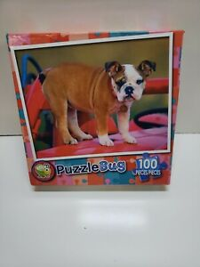 Puppy Wagon Puzzle 100 Piece Puzzle Bug New Sealed